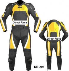 Motorbike Leather Suit DR 201
