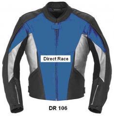 Motorbike Leather Jacket DR 106