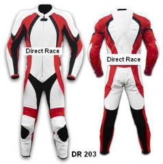 Motorbike Leather Suit DR 203