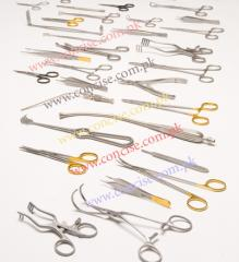 Surgical forceps, pincers, adson dressing forceps