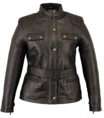 Fashion Leather Womens Jacket
