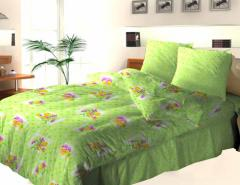 Bed linen from coarse calico (wholesale)