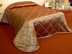 Satin bedspread