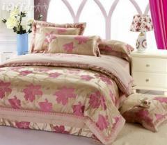 Jacquard bedspreads