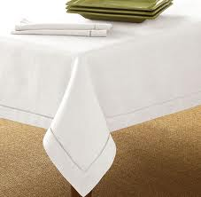 Linen table cover
