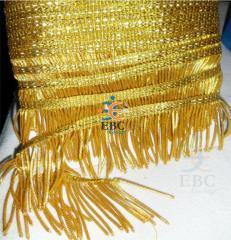 Vestment trimming Fringe, gold fringe tassel