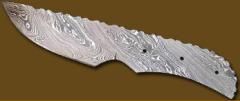 Damascus Blank Blade.