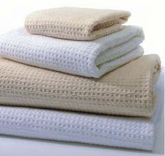 Fabrics, for waffle towels, cotton