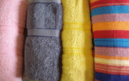 Fabrics  for towels, cotton ( only for