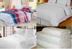 Textile for hotels, sanatoriums