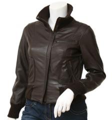 Leather Fashion Jackets Female