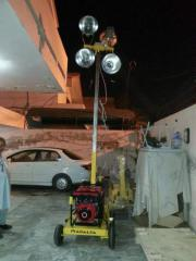 Construction Light Tower with Diesel Generator