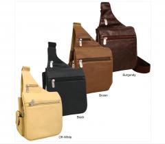 Convenient Leather Travel Bag