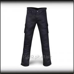 Unisex Black Cargo Kevlar Pants