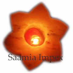 Himalayan Salt Star Candle Holder