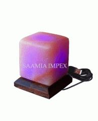 Himalayan USB Mini Salt Lamp Cube