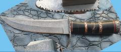 Custom Handmade Damascus Steel Hunting Knife