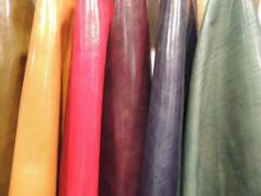 Leather, Leather garments, Bags, Gloves etc