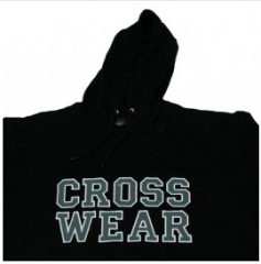 Black Fleece Hoodie for Men