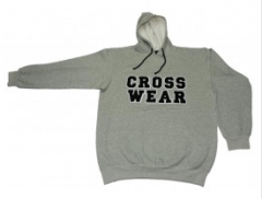 CW-183 Grey Fleece Hoodie for Men
