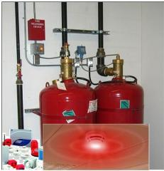 Fire Alarm & Gas based Fire Suppression