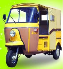 Three Wheeler 200 cc 4 Stroke Auto Rickshaw