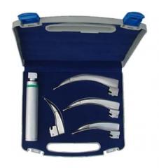 Fiber Optic Laryngoscope Set