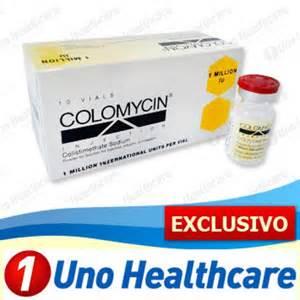 COLOMYCIN VIAL UK