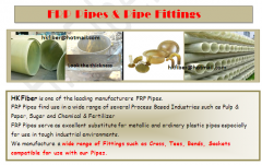 FRP Pipes & Pipe Fittings