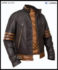 X-Men Leather Jacket 100% pure Lamb Leather