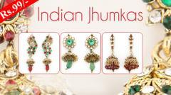 Indian Jhumkas