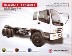 ISUZU FTR33K 6X2, 10 Wheeler Truck