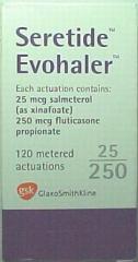 SERETIDE EVOHALER  25/150