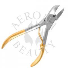 Gold Plated Nail Nipper AB-1108 - Кусачки