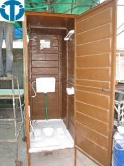 Fiberglass mobile wash room