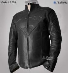 Super Man Leather Jacket
