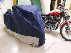 Motor Cycle Parking Cover
