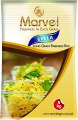 Marvel sella, long grain parboiled rice