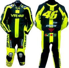 VR 46 Leather biker Suit