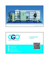 Ogo ro plant and water filter