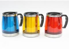 Plastic Steel Mugs