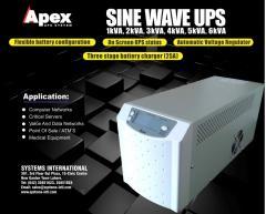 Apex sine wave long backup 1kva, 2kva, 3kva, 5kva