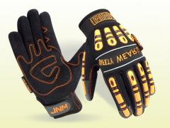 Synthetic Leather Mechanic Gloves