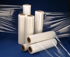 Stretch wrap film,P.E and PVC shrink films,Poly