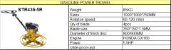 Gasoline Concrete Power Trowel