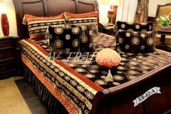 Splendid Korean Velvelt Bed Covers