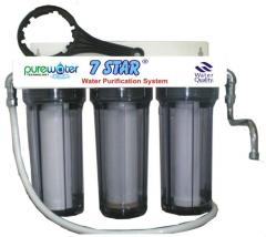 7 star water filter 3 stage unite