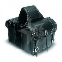 Genuine Leather Motorcycle Saddle Bags