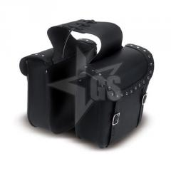 100% Genuine Leather Saddle Bag for Bikers