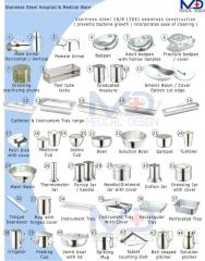 Stainless Steel Hospital Medical ware Hollow wear